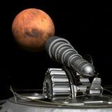 L'exploration de Mars illustration de vecteur