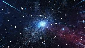 L'explosion initiale de l'univers Big Bang Images libres de droits