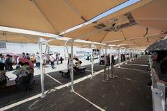 L'Expo 2010 del mondo di Shanghai un area di riposo Fotografia Stock Libera da Diritti