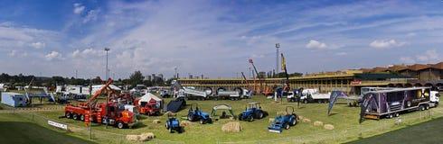 L'expo lourde - panoramique photos libres de droits