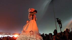 L'exposition 2014 de Sakura Matsuri Festival Cosplay Fashion 3 Image stock
