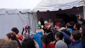 L'exposition 2014 de Sakura Matsuri Festival Cosplay Fashion 32 Image libre de droits