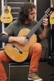L'exposition 2014 internationale d'instruments de musique de Changhaï Photo libre de droits