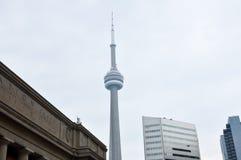 L'extérieur de la station des syndicats à Toronto au cours de la journée Image stock