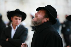 L'extase de prière et indifferen Photos libres de droits