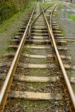 L'extension intersectent du chemin de fer Photos libres de droits