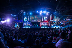 L'extrémité d'Intel maîtrise 2014, Katowice, Pologne Photographie stock