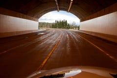 L'extrémité du tunnel Image libre de droits