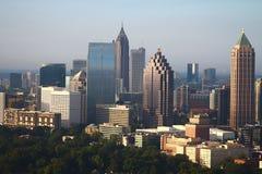 L'extrémité nord d'Atlanta au lever de soleil Image stock