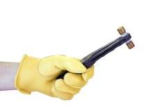 L'extracteur de fusible d'électriciens a isolé photographie stock