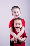 L fratelli piccoli Fotografia Stock Libera da Diritti