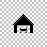 L?genhet f?r garagebilsymbol royaltyfri illustrationer
