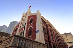L'église célèbre de zhushutang de la ville amoy, porcelaine Photographie stock