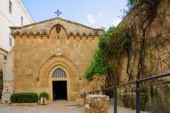 L'église de la flagellation Photos stock