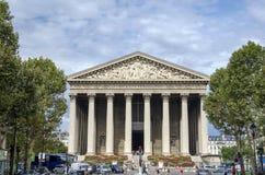 La马德琳,巴黎 免版税库存图片