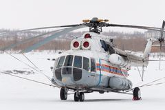 L'hélicoptère Image libre de droits