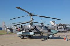 L'hélicoptère Ka-52 Photos libres de droits