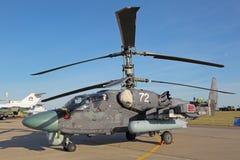 L'hélicoptère Ka-52 Photographie stock libre de droits