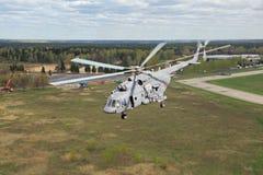 L'hélicoptère Mi-8 Image libre de droits