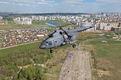 L'hélicoptère Mi-8 Photos libres de droits