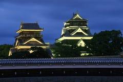 L'héritage célèbre - château de Kumamoto photos stock