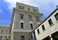 L'hôpital Pacifique du sud a tourné le logement supérieur de terrasse de pitié, 11 photographie stock