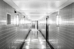L'hôpital silencieux photo libre de droits