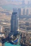 L'hôtel d'adresse à Dubaï images libres de droits