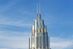 L'hôtel de boulevard d'adresse est situé à Dubaï en centre ville images stock