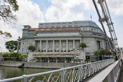 L'hôtel de Fullerton, Singapour images stock