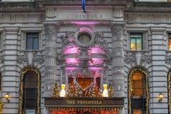 L'hôtel de péninsule - New York City photo libre de droits