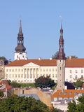 L'hôtel de ville de Tallinn Photos stock