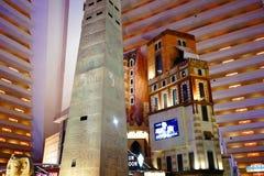 L'hôtel et le casino 27 de Louxor images libres de droits