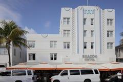 L'hôtel Miami Beach de radiophare Image stock
