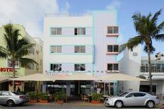 L'hôtel Miami Beach de Starlite Photo libre de droits