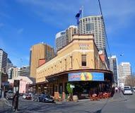 L'hôtel australien célèbre 100 ans à Sydney Images libres de droits