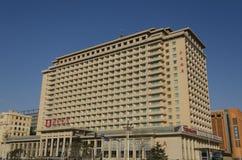 L'hôtel cinq étoiles d'hôtel de Pékin dans le secteur de Dongcheng de Pékin Chine Photo libre de droits