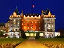L'hôtel d'impératrice dans Victoria, Canada Photographie stock libre de droits