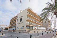 L'hôtel de Bq Anfora est fermé pour la rénovation Photo libre de droits