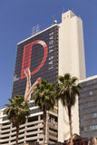 L'hôtel de D à Las Vegas, nanovolt le 18 mai 2013 Image libre de droits
