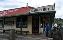 L'hôtel de Dargo a été établi en 1898 Photographie stock