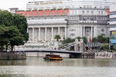 L'h?tel de Fullerton, Singapour photos stock