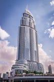 L'hôtel de luxe d'adresse à Dubaï images libres de droits