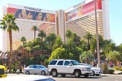 L'hôtel de mirage à Las Vegas Photographie stock