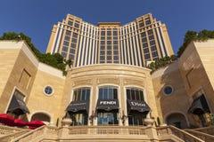 L'hôtel de Palazzo en journée à Las Vegas, nanovolt le 5 juin 2013 Photos stock