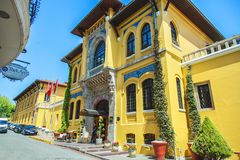 L'hôtel de quatre saisons à Istanbul Photo stock