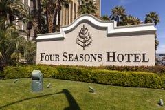 L'hôtel de quatre saisons chantent à Las Vegas, nanovolt le 19 avril 2013 Photos libres de droits