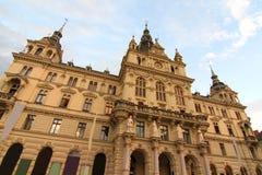 Hôtel de ville de Graz Photo stock