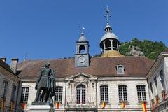 L'hôtel de ville de Salins-Les-Bains Photos libres de droits