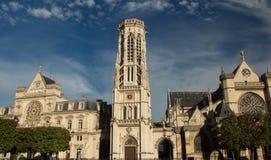 L'hôtel de ville du 1er arrondissement de Paris et de St Germain l photographie stock